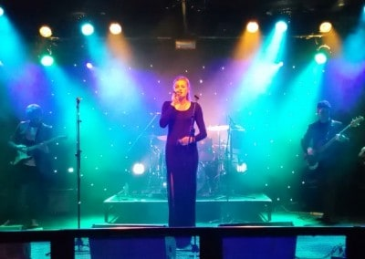 Jessica Davies at The Wedgewood Rooms